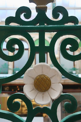 County Arcade Ironwork Flower