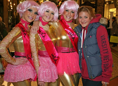 Roller Girls Leeds Victoria Quarter