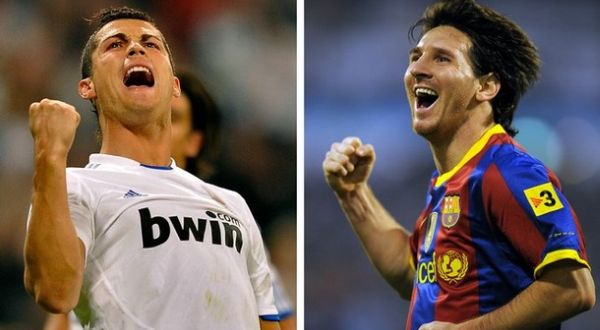 ronaldo vs messi head to head. Cristiano Ronaldo and Messi