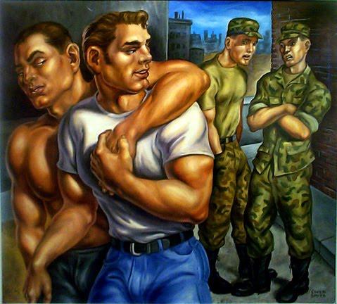 Army gay bad treatment