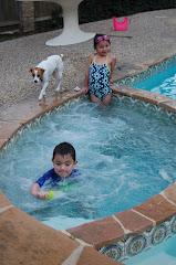 January Hot tub fun!