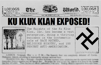 the negative impact of the ku klux klan on the african americans The ku klux klan was a racist group established by people who believed that  white people were better and wanted to see black people remaining slaves.