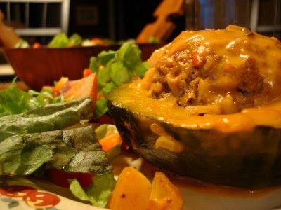Mennonite Girls Can Cook: Filled Buttercup Squash