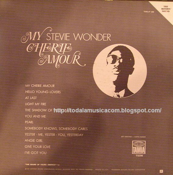Stevie Wonder - My Cherie Amour / Signed Sealed And Delivered