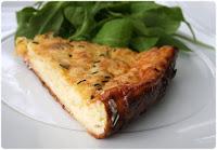 tarte legere poireaux dinde et fromage blanc