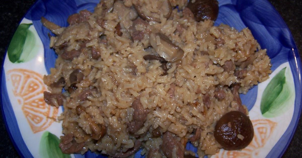 Que se est cocinando what 39 s cooking ternera for Arroz con setas y trufa