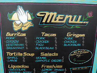 TacoFino Menu board hand painted by Dobell signs north america traditional signage dobell designs