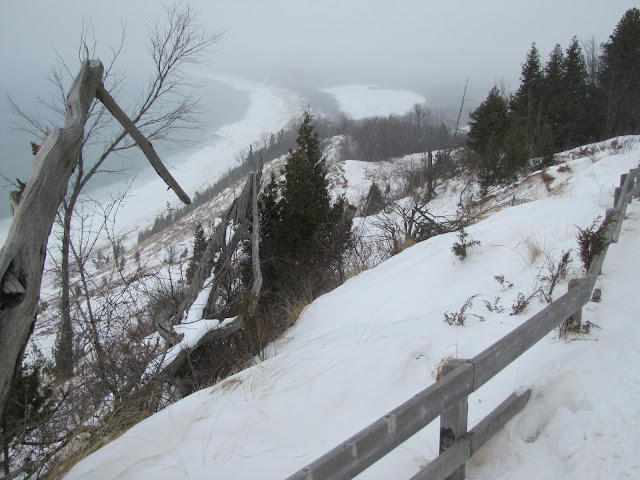Empire Bluff in Winter