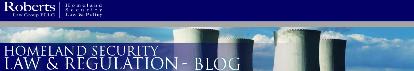 Homeland Security Law and Policy Blog