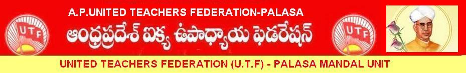 UNITED TEACHERS FEDERATION (UTF) - PALASA