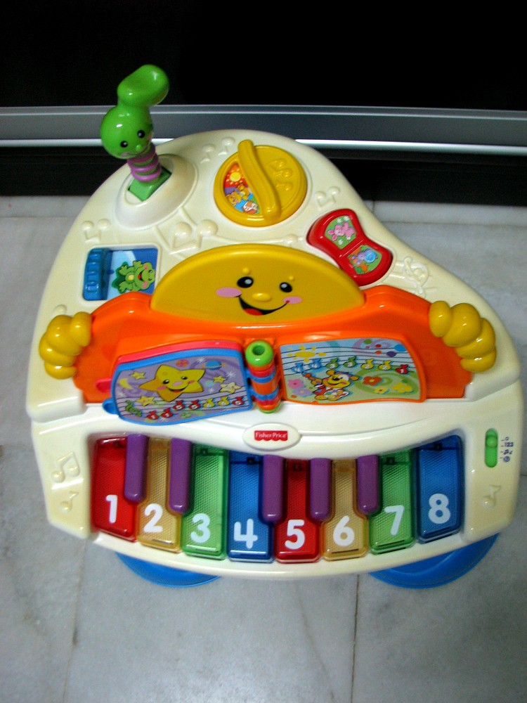 Fisher Price Laugh and Learn Piano | eBay
