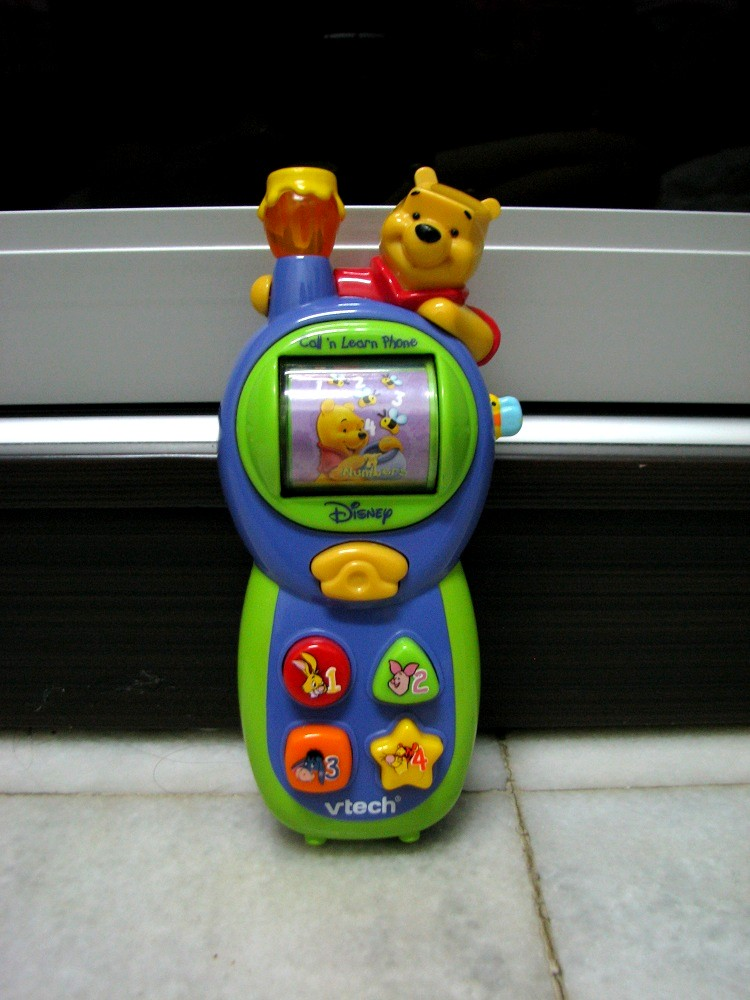 Kiddy Parlour Sold Gallery Vtech Winnie The Pooh Call N