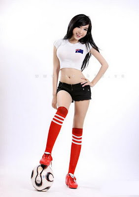Elly Tran Ha World Cup 2010