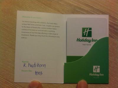 Review : Holiday Inn Pattaya Hotel
