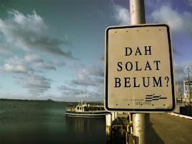 .: Dah Solat? :.