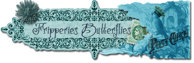 Fripperies &amp; Butterflies