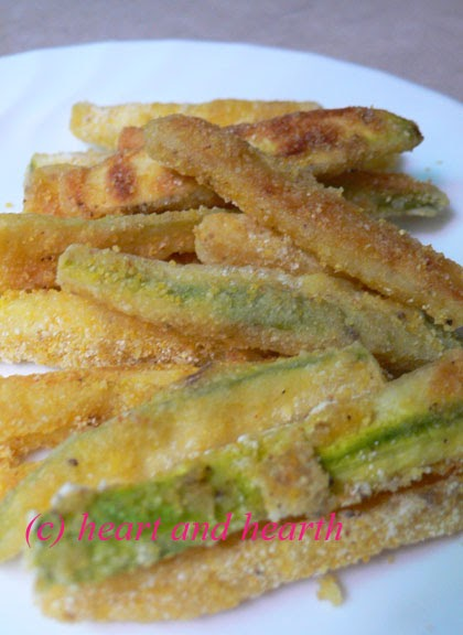 Heart and Hearth: Oven Baked Zucchini Fries