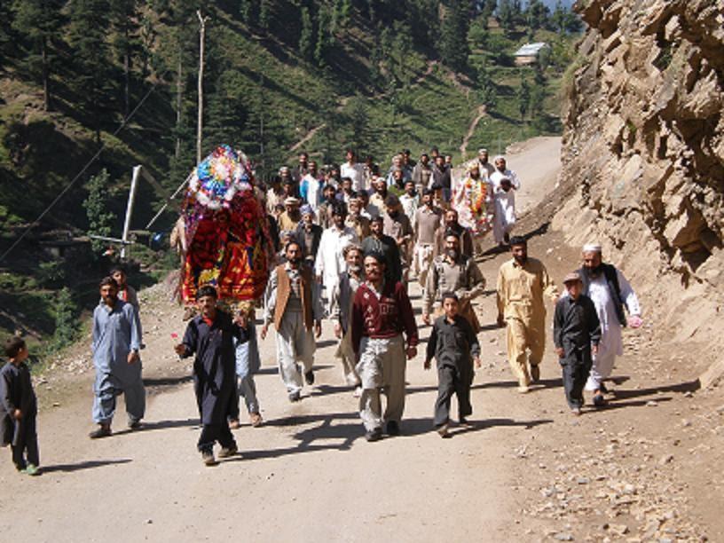 beautiful pakistan wedding ceremony of neelam valley of