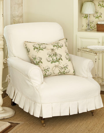 Armchair Slipcovers - Home Furniture and Decoration