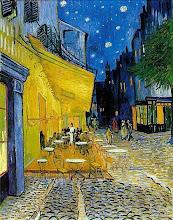 Vente. La noche es hermosa en La terraza de Arlés