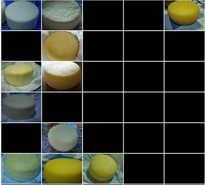 30 dias da evolución dun queixo Arzúa-Ulloa