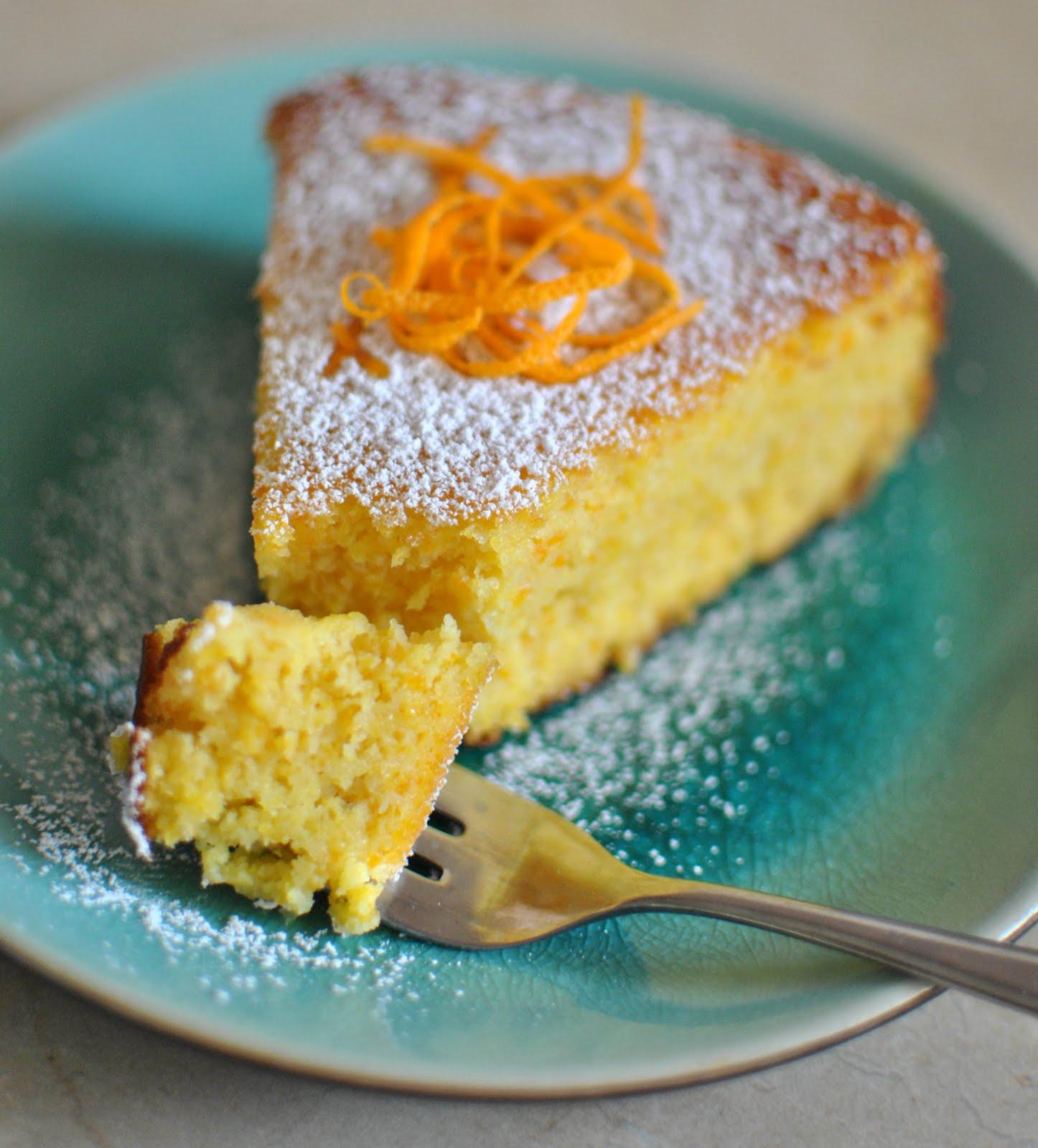 Gluten Free Flourless Orange Cake