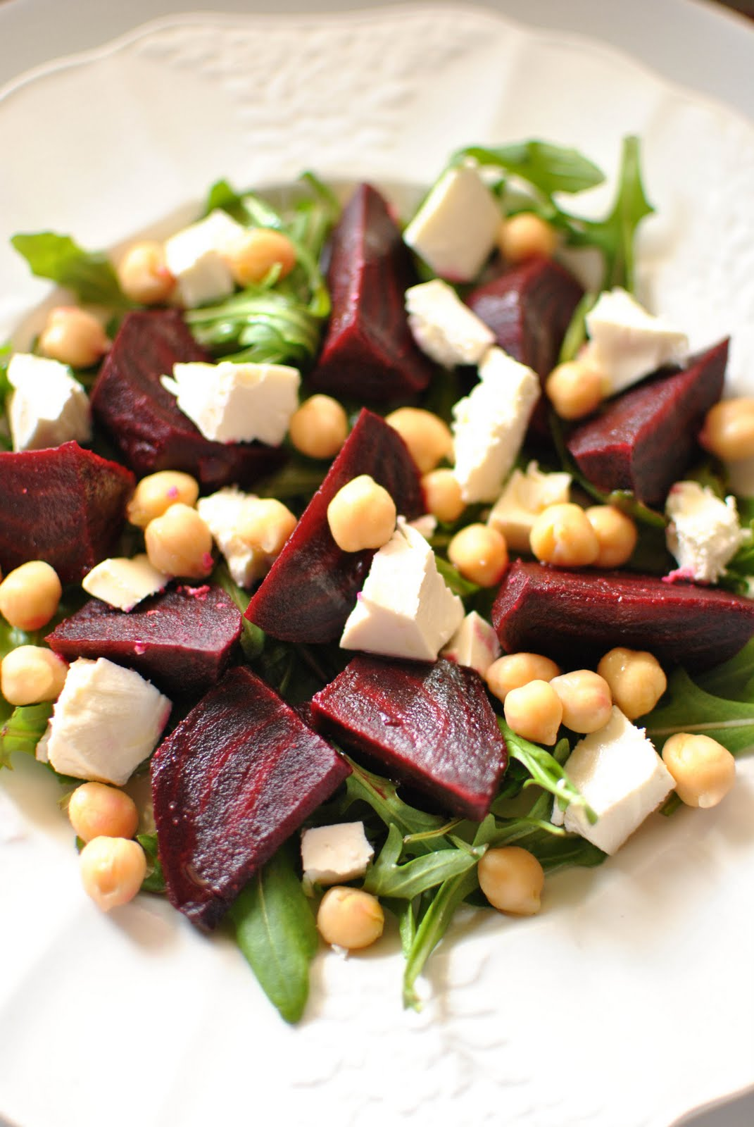 Scandi Home: Salad of Beets, Chickpeas and Feta