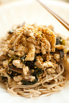 Scandi Home: Chicken, mushroom and miso sauce with soba ...