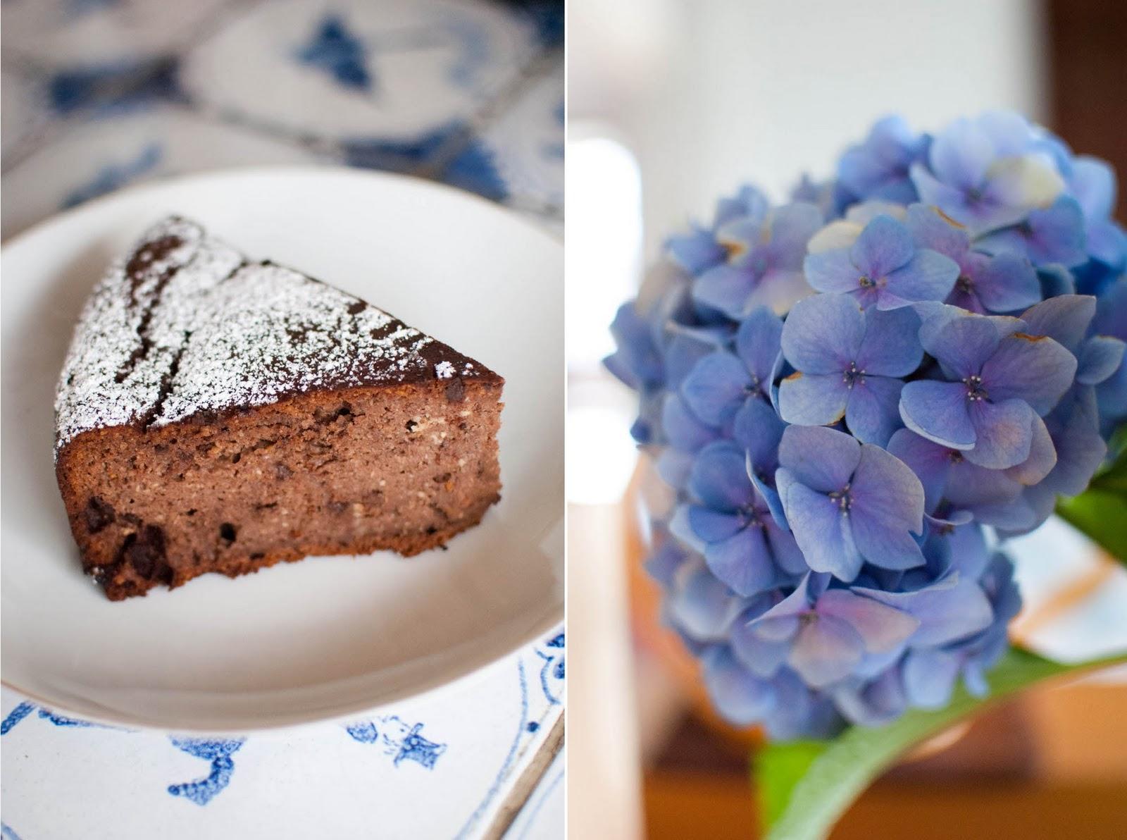 Scandi Home Healthy Birthday Cake Almond Hazelnut Orange And