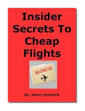 insider secrets to cheap flights