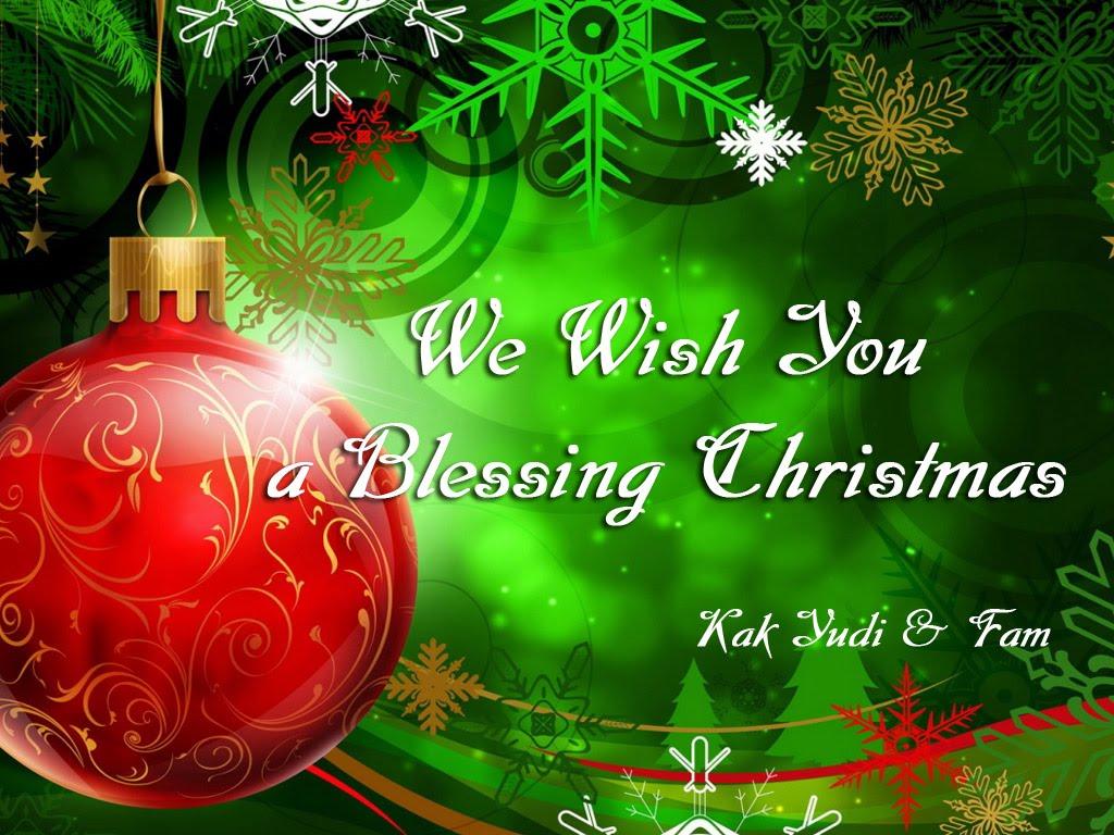 selamat natal kepada teman teman semua kiranya berkat dan damai natal