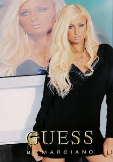 Paris Hilton Guess Ads