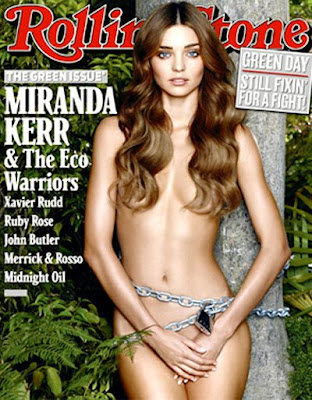 Miranda Kerr in Rolling Stone Magazine photoshoot 2009