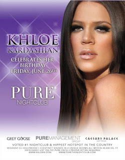 Khloe Kardashian 25th Birthday @ Pure Nightclub