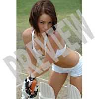 Cricket Players in Bikinis