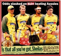 odds on sun beating aussie cricket team