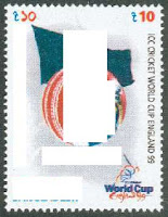 commerorative stamp for 1999 Cricket World Cup