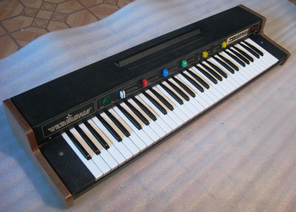 Схема vermona у piano