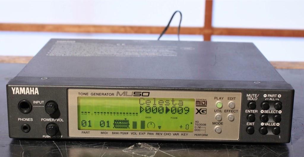 Yamaha Mu Tone Generator Manual