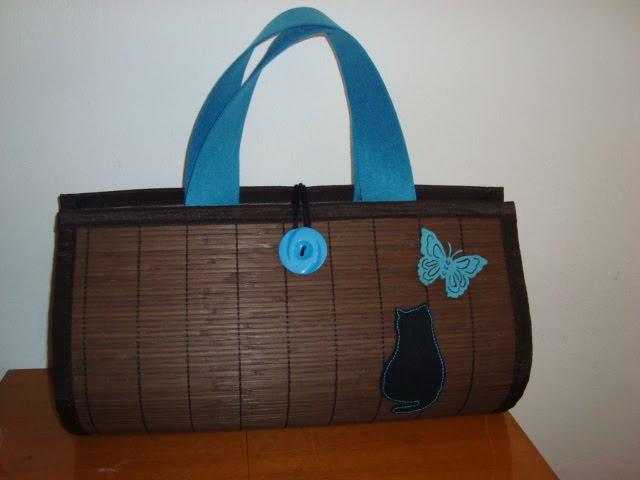 saco de praia com feltro