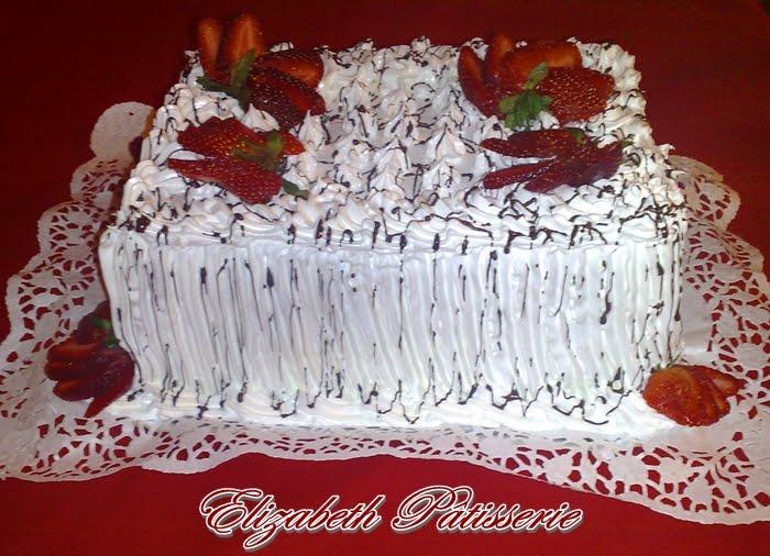 Imágenes de tortas decoradas con crema - Imagui