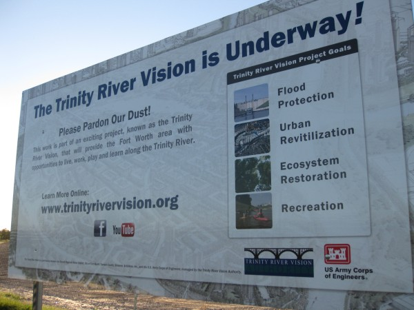 Durango Texas The Trinity River Vision Is Underway With A Lot Of