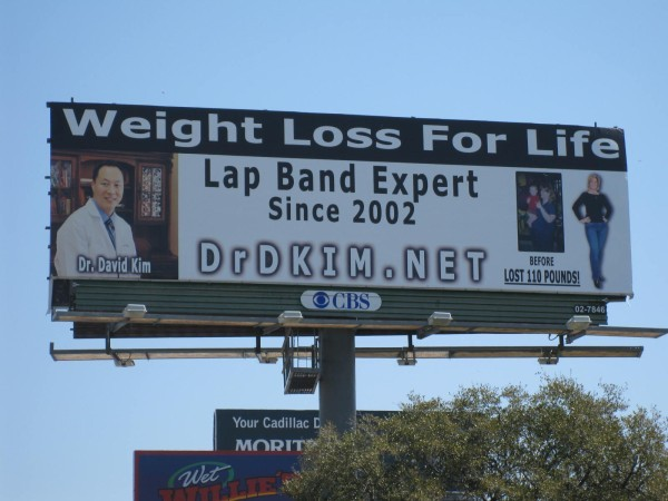 The fancy name for a Lap Band is Laparoscopic Adjustable Gastric Band.