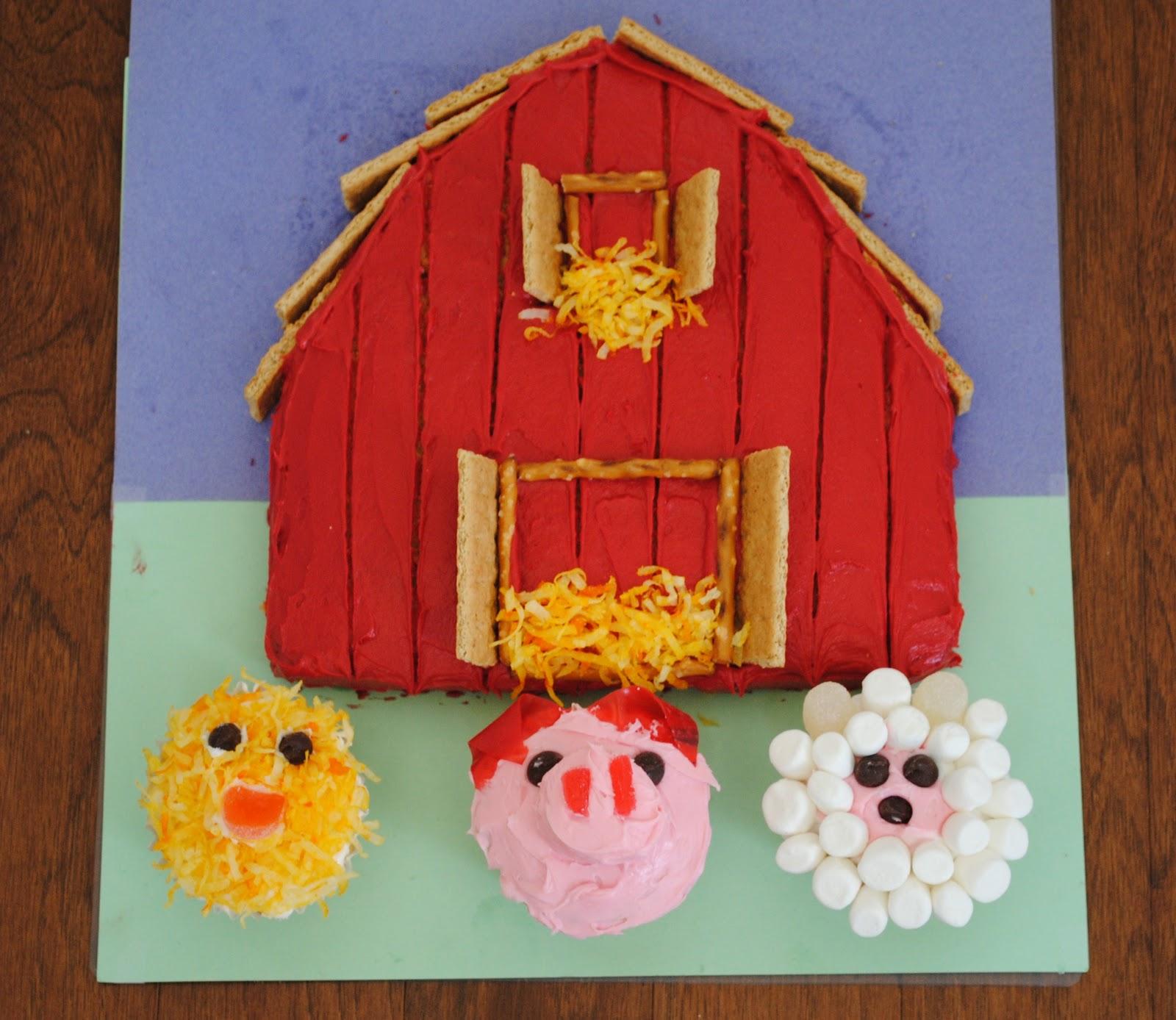 Calico and Cupcakes: Barnyard Birthday Bash