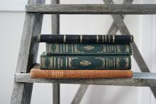 Böcker är vackra och åldras med värdighet...