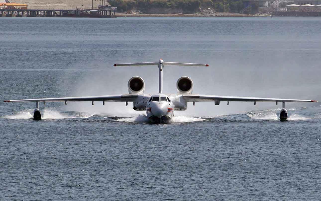 Beriev Be-200 Altair Modernizado – Novo avião de resgate anfíbio entra em produção