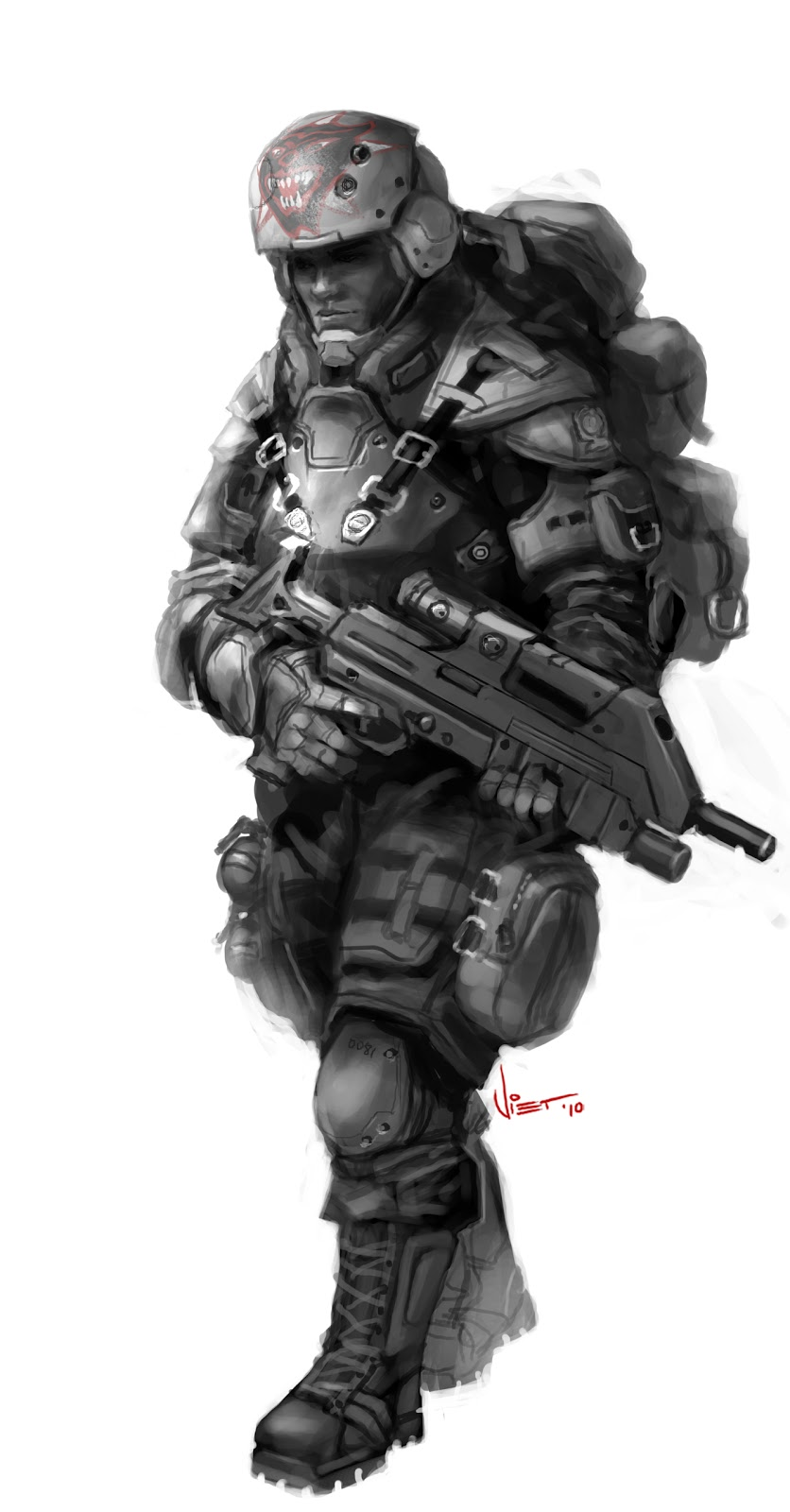 Image Result For Futuristic Military Armor Concept Art