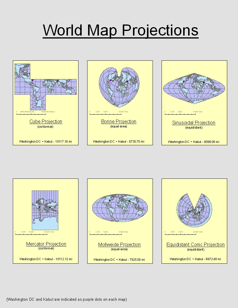 map projection types This example defines an image map type using the gall-peters // projection //  .