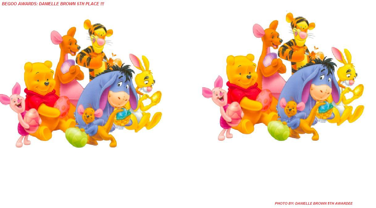 "Winnie the Pooh and Friends!"" Background submitted by : Danielle"