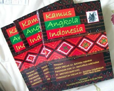 Kamus Angkola Indonesia